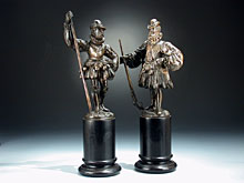 Hampel Paar N�rnberger Bronze-Figuren