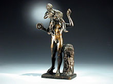 Hampel Bronze-Figur