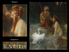 Hampel Eduard Veith  1856 - 1925 Wien
