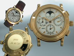 Hampel IWC <br />International Watch Co. Schaffhausen, Switzerland, since 1868<br />Herrenarmbanduhr<br />Modell IWC �Grande Complication�