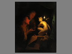 Хампель  Godfried Schalcken,