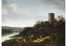 Hampel Giovanni Battista Busiri,  1698 Rom - 1757