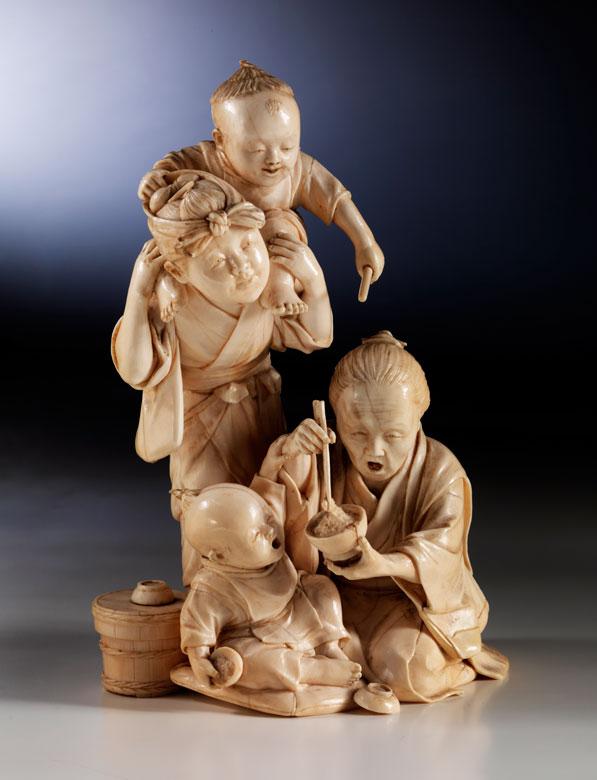 Окимоно - высокое искусство резьбы
