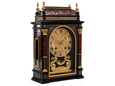 Hampel Franz�sische Stockuhr in Boulle-Technik
