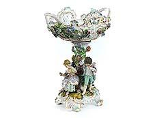 Detail images: Porzellan-Tafelaufsatzschale
