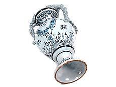 Detailabbildung: Große Fayence-Vase