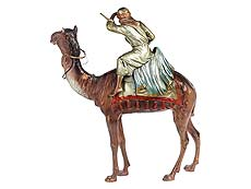Detail images: Bronzeskulptur eines reitenden orientalischen Jägers