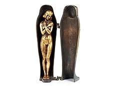 Detail images: Wiener Bronze in Form einer Mumie