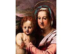 Detailabbildung: Florentiner Meister aus dem Kreis von Pier Francesco Foschi (1502-1567) sowie Andrea del Sarto (1486-1530)