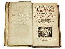 Detail images: Plinianae exercitationes von Claudius Salmasius