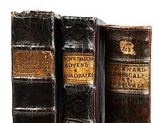 Detail images: Drei christliche Bücher