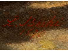 Detailabbildung: Luigi Bechi, 1830 Florenz – 1919, zug.