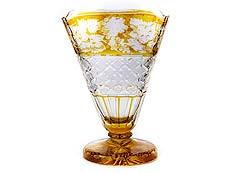 Detail images: Böhmische Glasvase