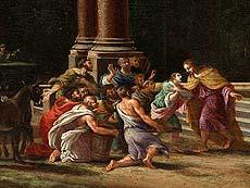 Detail images: Viviano Codazzi (1604 – 1670) und Filippi Lauri (1609 – 1694)