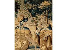 Detail images: Große Bildtapisserie mit mythologischer Darstellung