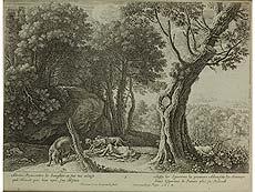 Detail images: Konvolut von vier Kupferstichen