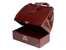 Detail images: Vintage Hermès-Handtasche