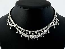 Detailabbildung: Art déco-Diamantcollier