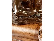 Detail images: Bronzeskulptur Allegorie des Tages nach Michelangelo