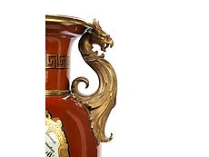 Detailabbildung: Große KPM-Porzellanhenkelvase