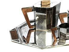 Detail images: Art déco-Kaffee- und Teeservice