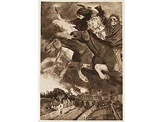 Detail images: Vier Bücher Arnold Böcklin