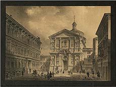 Detailabbildung: Giovanni Migliara, 1785 Alessandria – 1837 Mailand, zug.