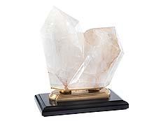 Detailabbildung: Imposanter doppelter Bergkristall
