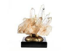 Detail images: Natürliche Bergkristallformation