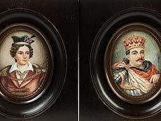 Detail images: Vier polnische Miniaturen