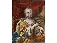 Detail images: Darstellung einer Königin