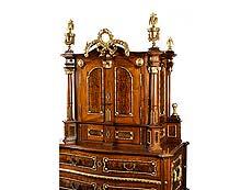 Detail images: Prachtvoller Josephinischer Aufsatzkommodenschrank