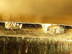 Detail images: Ovale Golddose