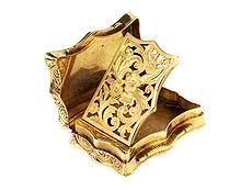 Detail images: Birminghamer Gold-Riechdose