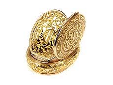 Detail images: Goldene Pariser Riechdose