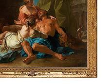 Detail images: Jean François de Troy, 1679 – 1752, zug.