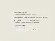 Detail images: Rudolf Lehnert und Ernst Landrock, Fotografen des 19./ 20. Jahrhunderts
