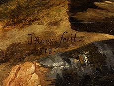 Detailabbildung: Johann Heinrich Roos, 1631 Otterberg/ Pfalz – 1685 Frankfurt a. M., Hofmaler des Kurfürsten von der Pfalz