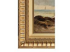 Detailabbildung: Jan Hermann Barend Koekkoek, 1840 Amsterdam – 1912 Hilversum