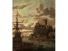 Detailabbildung: Abraham Jansz Storck, um 1635 Amsterdam – 1710 ebenda