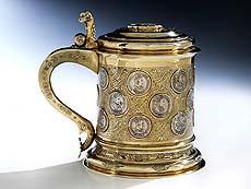 Detailabbildung: Attraktiver Münzhumpen des ausgehenden 17. Jahrhunderts