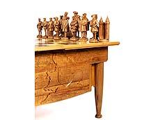 Detail images: Großes Tischschachspiel Königin Elisabeth gegen Königin Maria Stuart