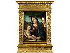 Detail images: Giacomo Raibolini Francia, ca. 1486 Bologna – 1557, zug.