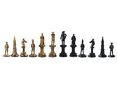 Detail images: Schachspiel Napoleon gegen Friedrich II.