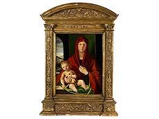 Detail images: Alvise (Luigi) Vivarini, um 1445 Venedig oder Murano – um 1505