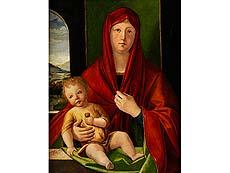 Detailabbildung: Alvise (Luigi) Vivarini, um 1445 Venedig oder Murano – um 1505