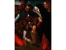 Detail images: Alessandro Moretto, eigentlich Alessandro Bonvicino da Brescia, 1490/98 Brescia – 1554, Umkreis des