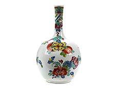 Detail images: Frühe Meissen-Vase mit indianischen Blumen