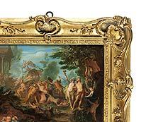 Detail images: Maler der Wiener Schule, zuschreibbar Johann Georg Platzer (1704-1761) oder Franz Christoph Janneck (1703-1761)