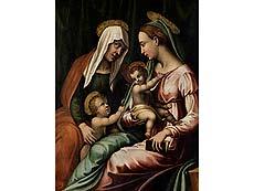 Detail images: Vincenzo Tamagni, 1492 San Gimignano, Italien – um 1530 ebenda